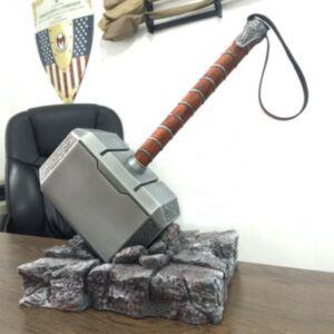 復仇者聯盟1:1雷神之鎚 3.8kg  連地台